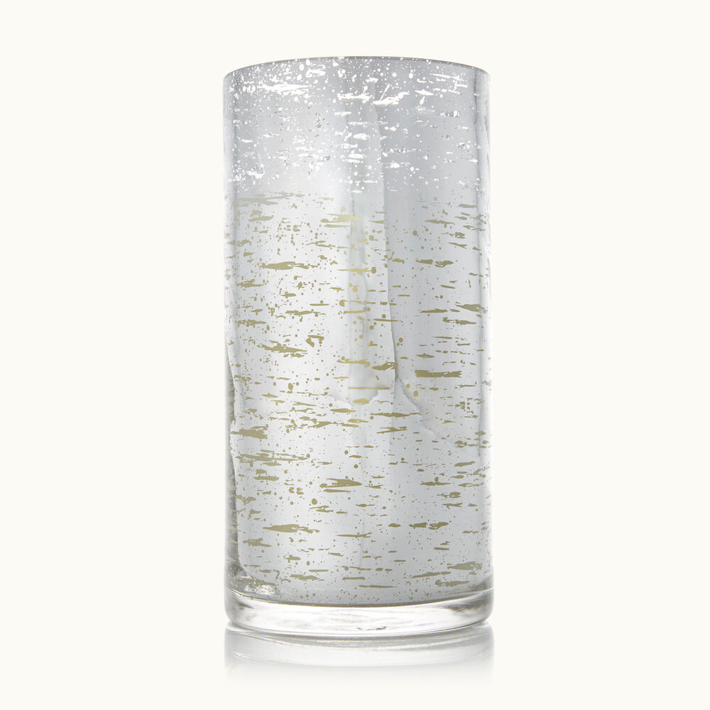 Thymes Forest Birch Large Luminary Candle with Bark Pattern image number 0