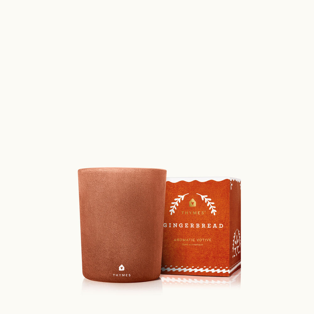 Thymes Gingerbread Votive Candle image number 0