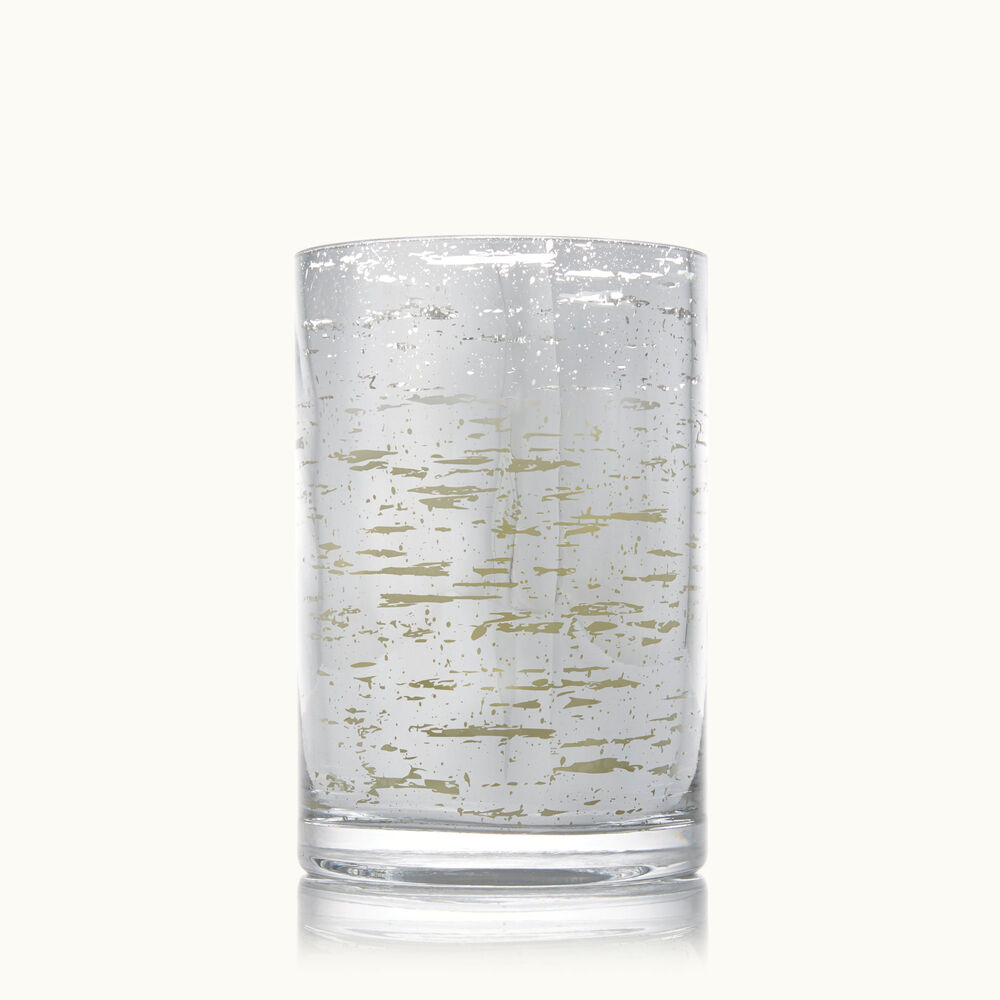 Thymes Forest Birch Medium Luminary Candle with Bark Pattern image number 0
