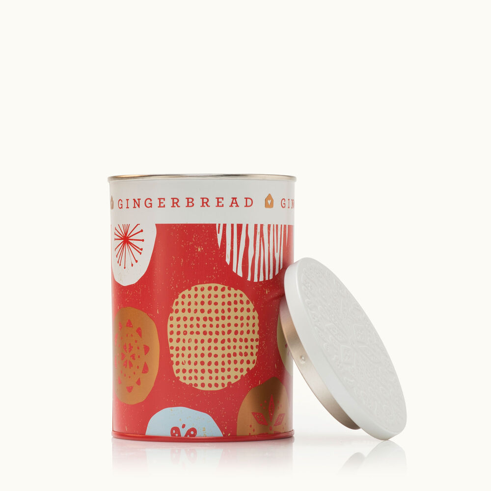 Thymes Gingerbread Candle Tin is a Holiday Fragrance image number 0