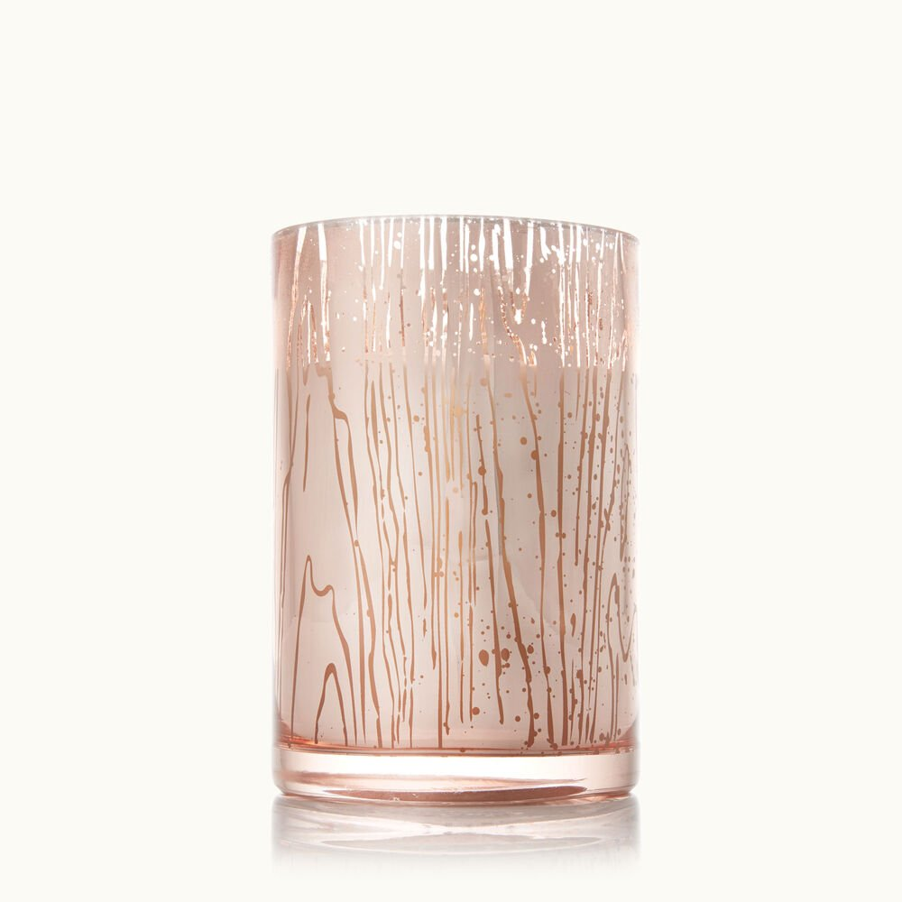 Thymes Forest Maple Medium Luminary Candle with Bark Pattern image number 0