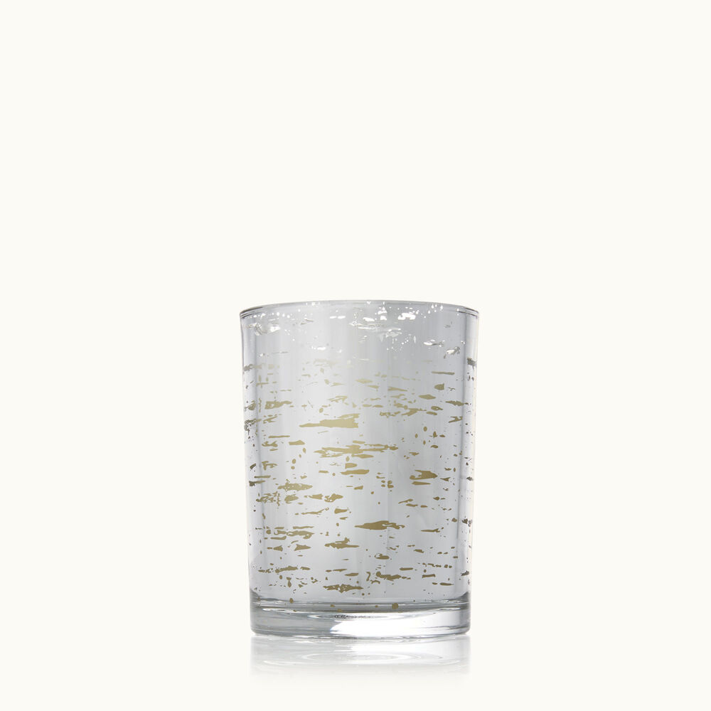 Thymes Forest Birch Small Luminary Candle with Bark Pattern image number 0