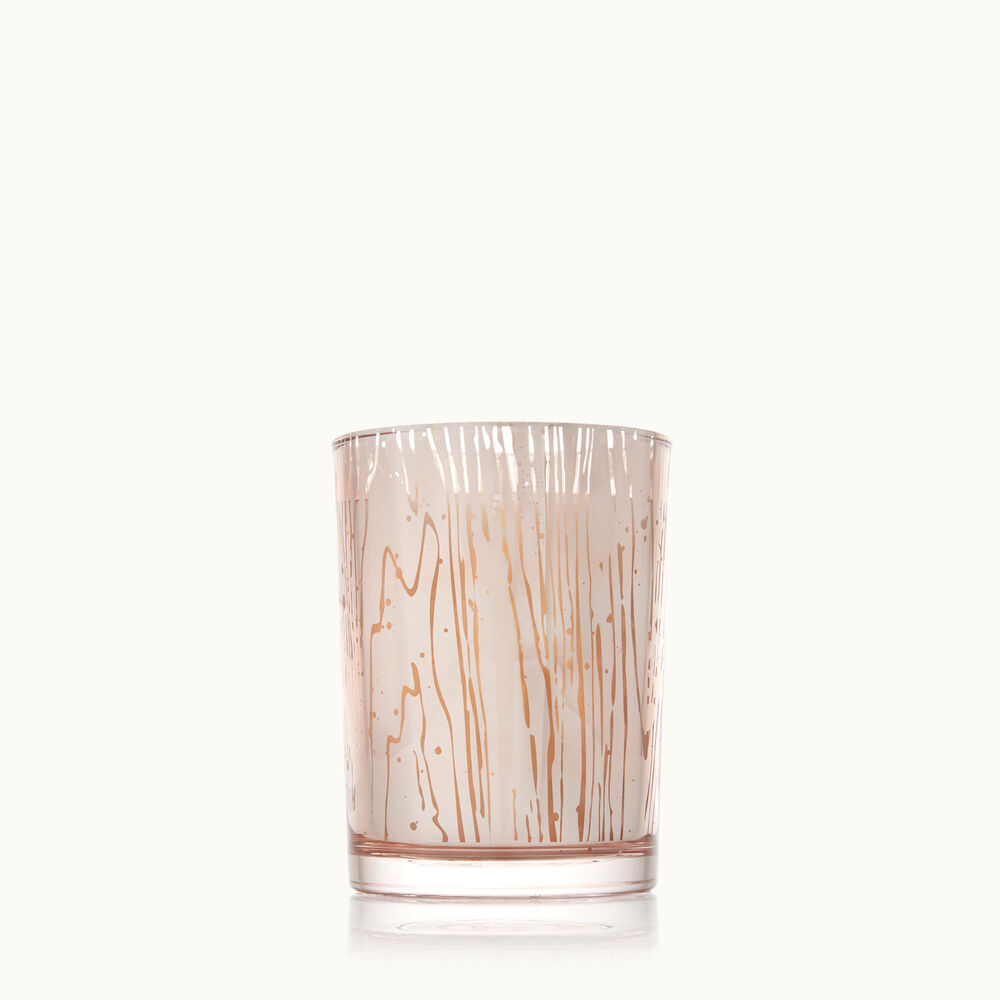 Thymes Forest Maple Small Luminary Candle with Bark Pattern image number 0