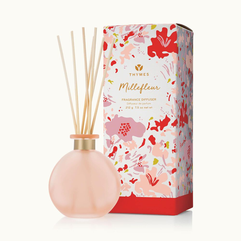 Thymes Millefleur Reed Diffuser is a Floral Fragrance image number 0