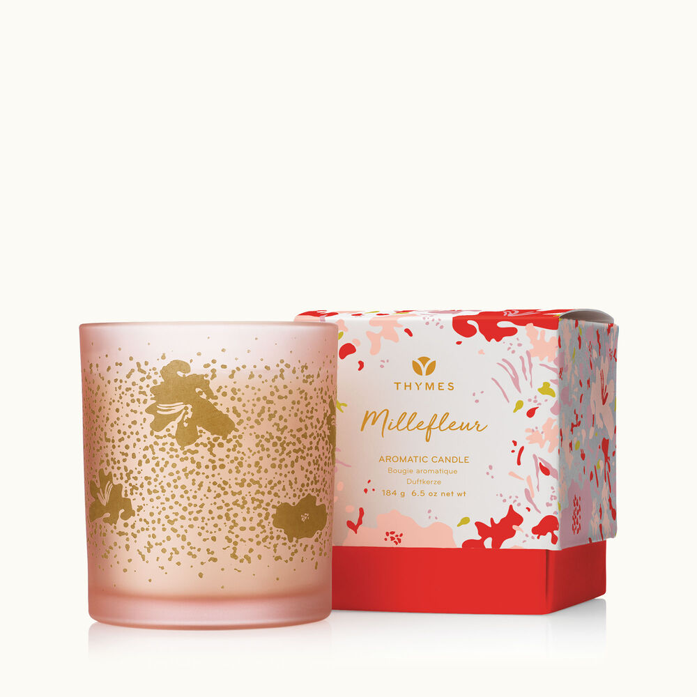 Thymes Millefleur Candle is a Spring Fragrance image number 0