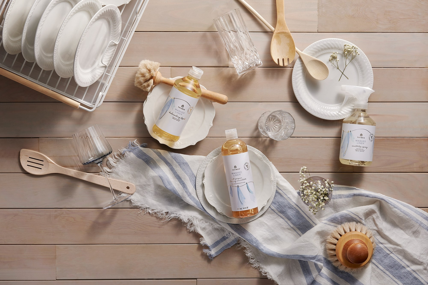 Thymes Washed Linen Fragrance