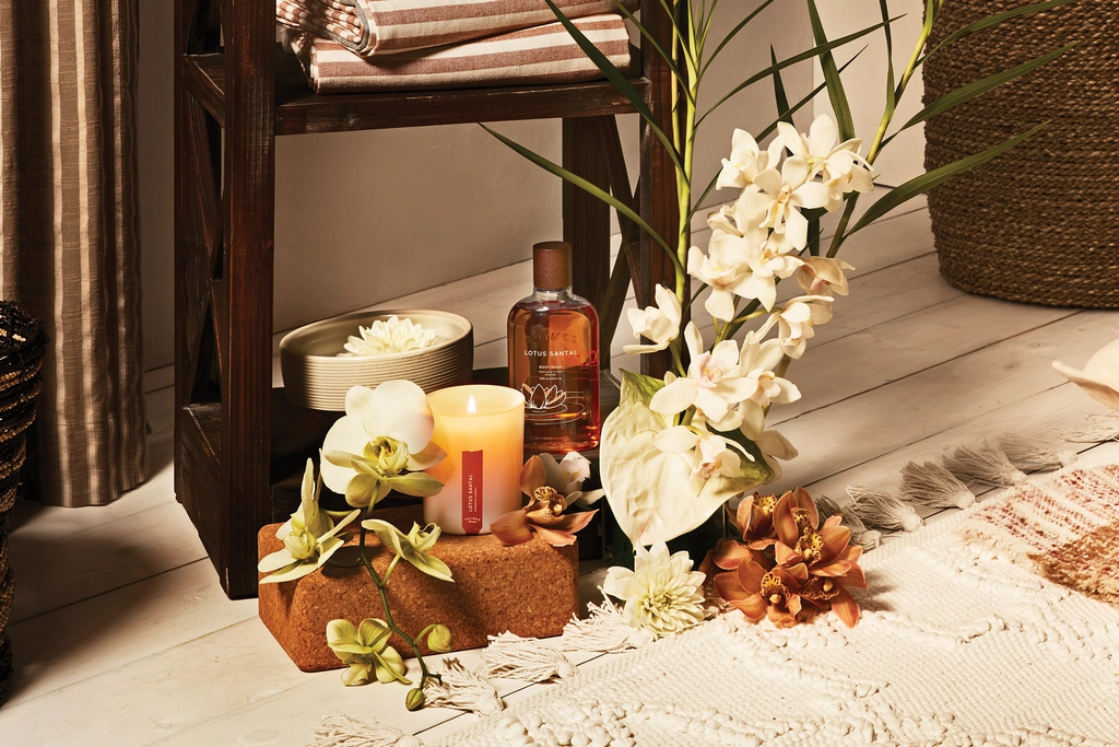 Thymes Lotus Santal Fragrance