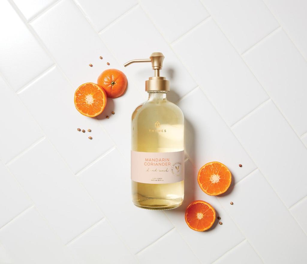 Thymes Mandarin Coriander Fragrance Collection