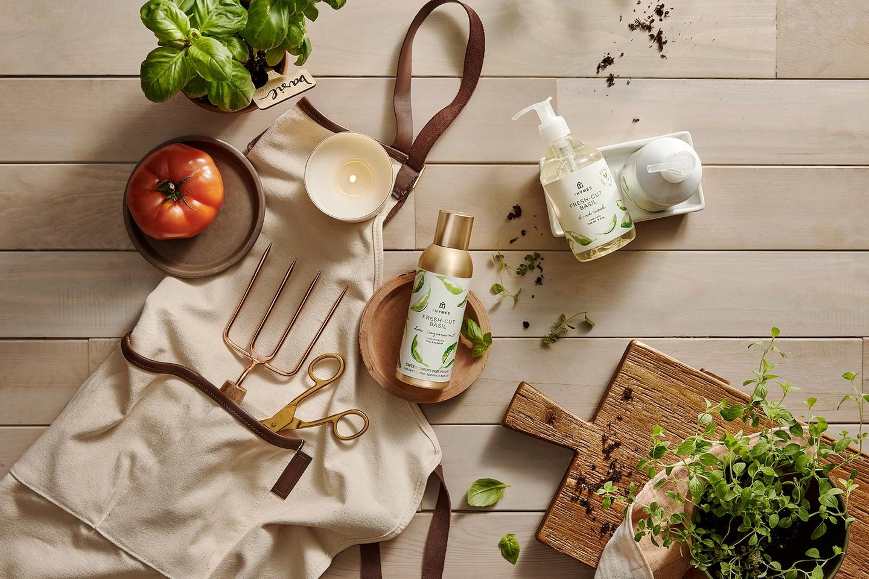 Thymes Fresh-cut Basil Fragrance
