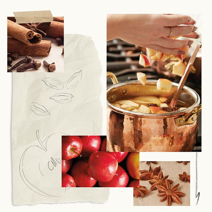 Simmered Cider Fragrance Experience